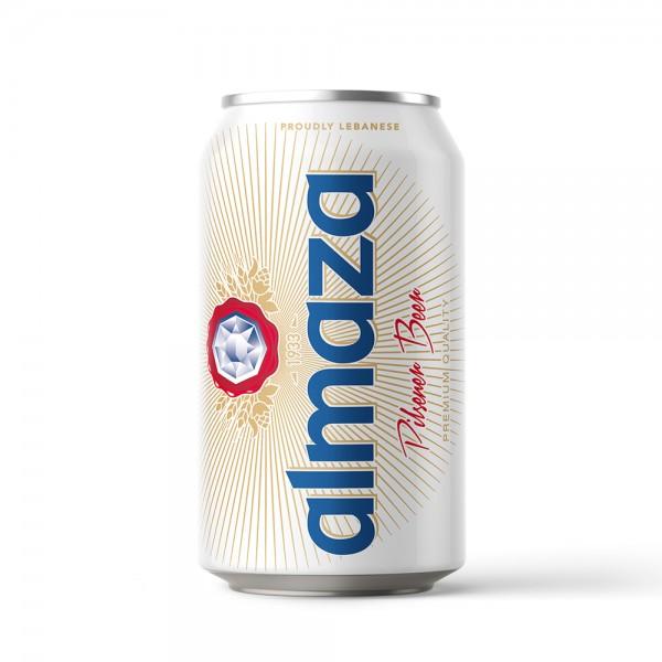 Almaza Beer Can 330ml 126945-V001 by Almaza