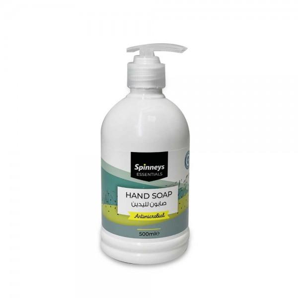 Spinneys Antibacterial Liquid Soap 500ml 518356-V001 by Spinneys Essentials