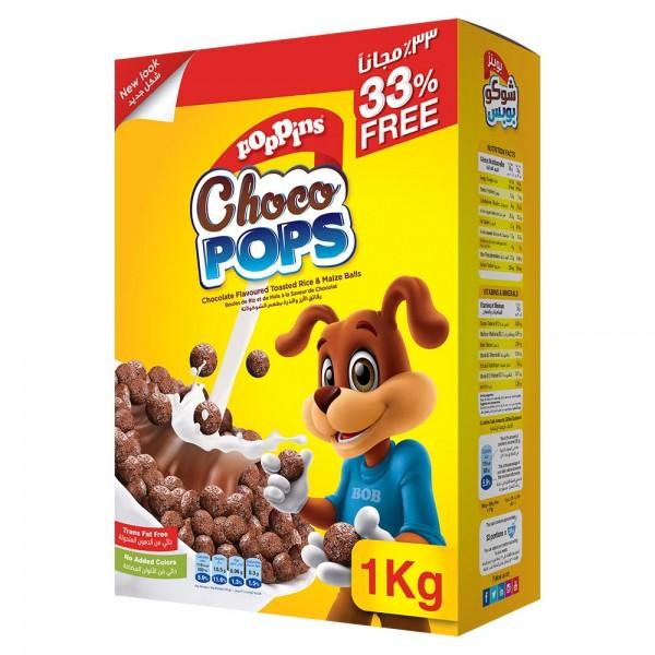 Poppins Choco Pops 750g + 33% FREE 520866-V001 by Poppins