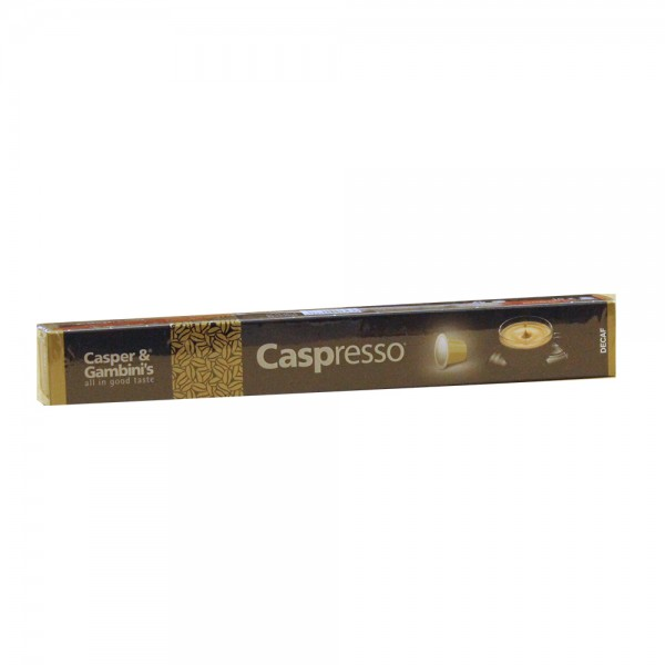 Caspresso Espresso Coffee Decaf 10 50g 477202-V001 by Caspresso