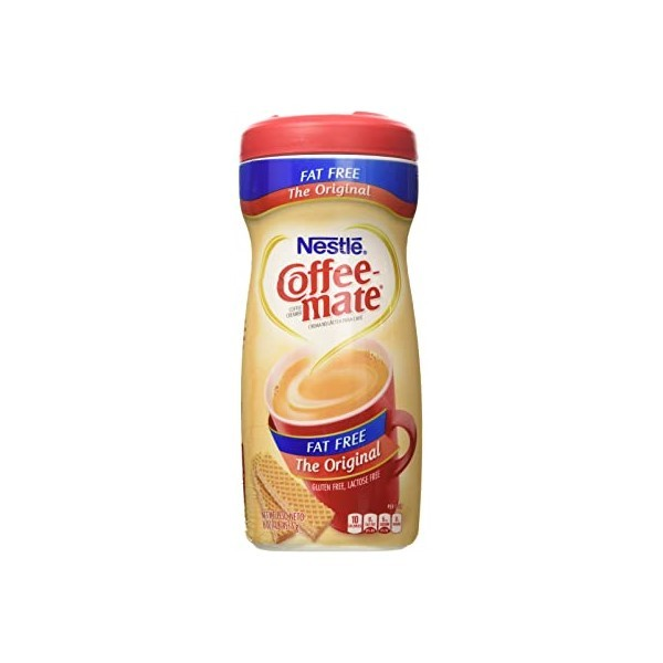 Coffee Mate Fat Free 453G 139129-V001 by Nestle