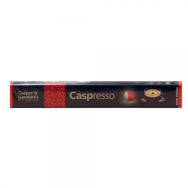 Caspresso Espresso Coffee Extra Strong10 50g 507231-V001 by Caspresso