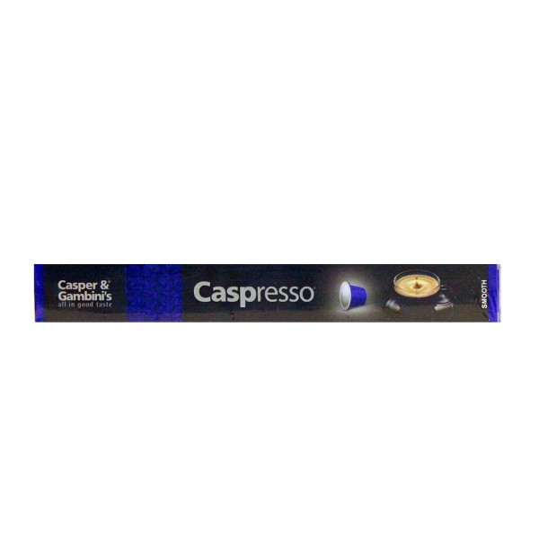 Caspresso Espresso Coffee Smooth 10 50g 477200-V001 by Caspresso