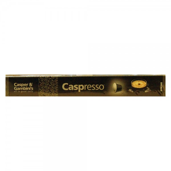 Caspresso Espresso Coffee Strong 10 50g 477201-V001 by Caspresso