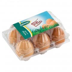 Spinneys Brown Eggs 6 per pack 145361-V001 by Spinneys Food