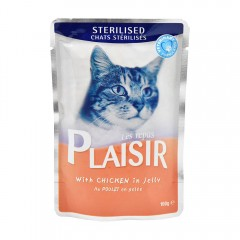 Re.Plaisir Sterilised Chat Jelly Chicken - 100G 465494-V001 by Les Repas Plaisir