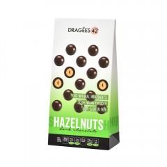 Dragees 42 Dark Chocolate Hazelnuts - 150G 533306-V001 by Dragées 42