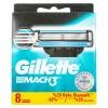 Gillette Mach3 Razor Blades 8 Pieces 133660-V001