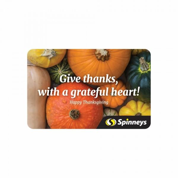 Happy Thanksgiving eGift Card