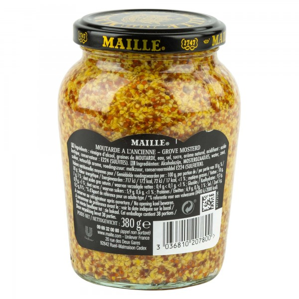 Maille Moutarde A L'Ancienne 380G