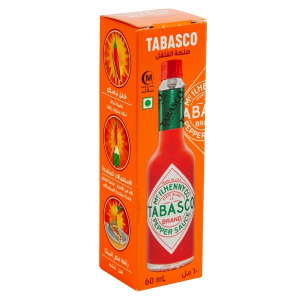 Tabasco Mcilhenny Co. Hot Sauce 60ml