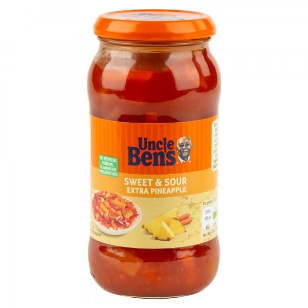 Uncle Ben'S Sweet & Sour Sauce 450G