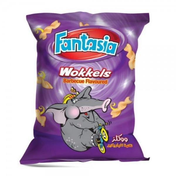 Fantasia Wokkels BBQ Flavor