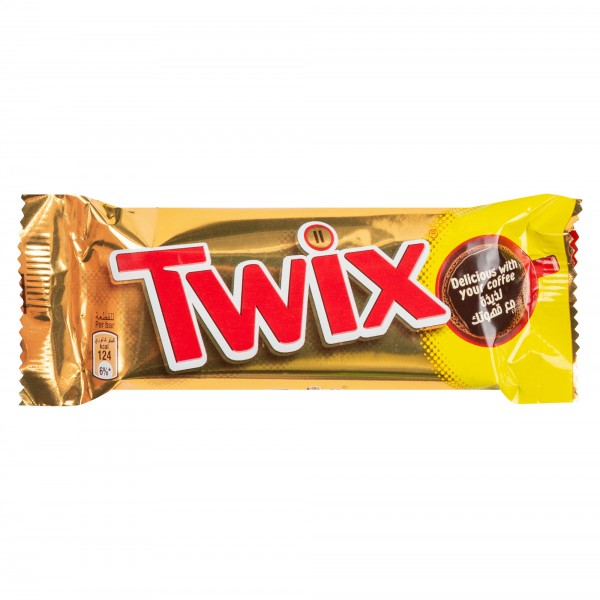 Twix Two Finger Chocolate Bar 50G
