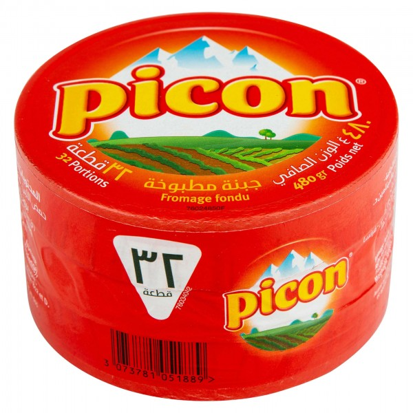 Picon Cheese Portions 32 Pieces 480G