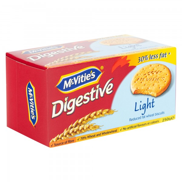Mcvitie's Digestives Light 250G