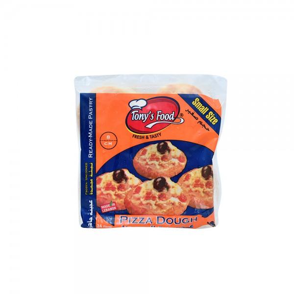 Tonys Food Frozen Pizza Dough Small 24pc