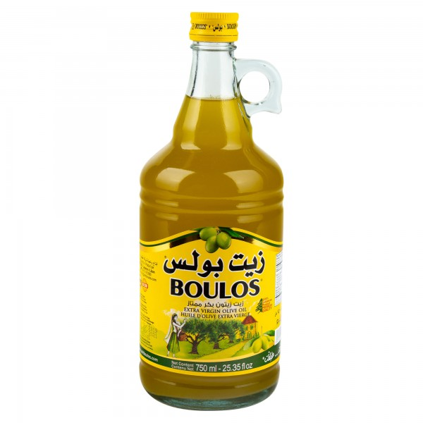 Boulos Olive Oil Extra Virgin 750ml