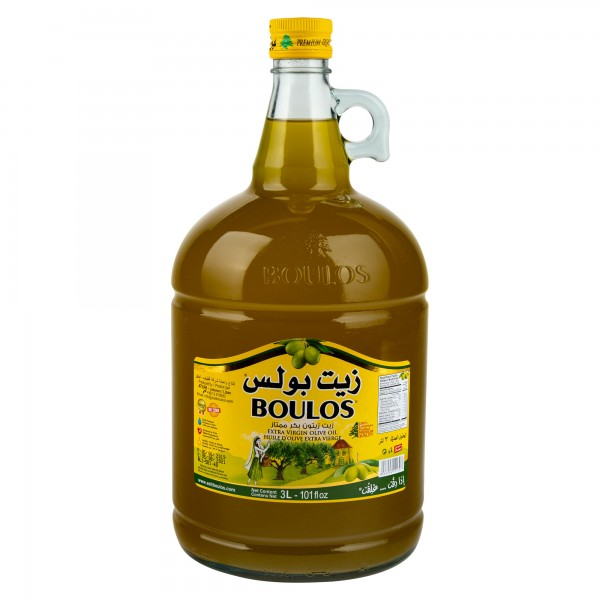 Boulos Olive Oil Extra Virgin 3L