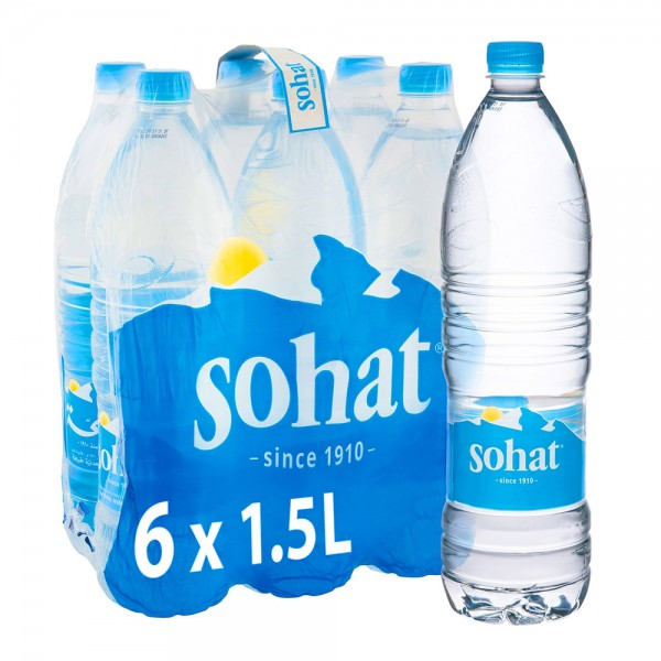 Sohat Natural Mineral Water 6x1.5L
