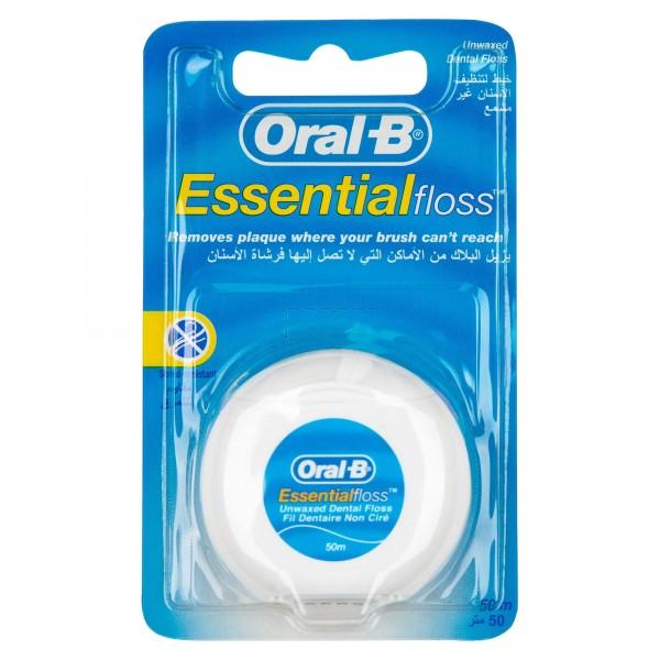 Oral-B Floss Essential Waxed 50M