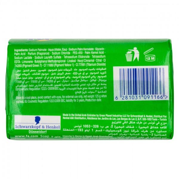Fa Bar Soap Refreshing Lemon 125G