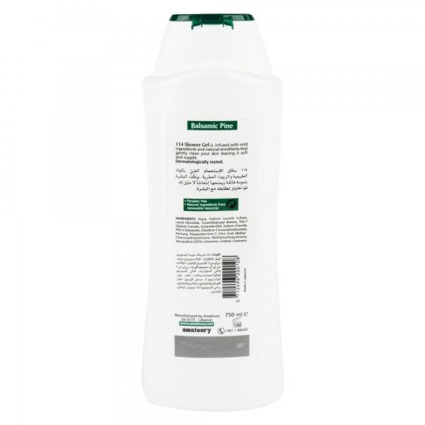 Amatoury 114 Shower Gel Balsamic Pine 750Ml