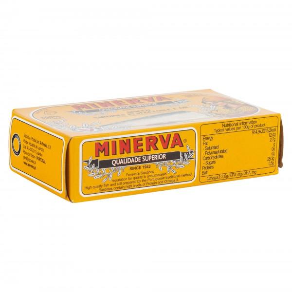 Minerva Spiced Sardines In Vegetable Oil 120G