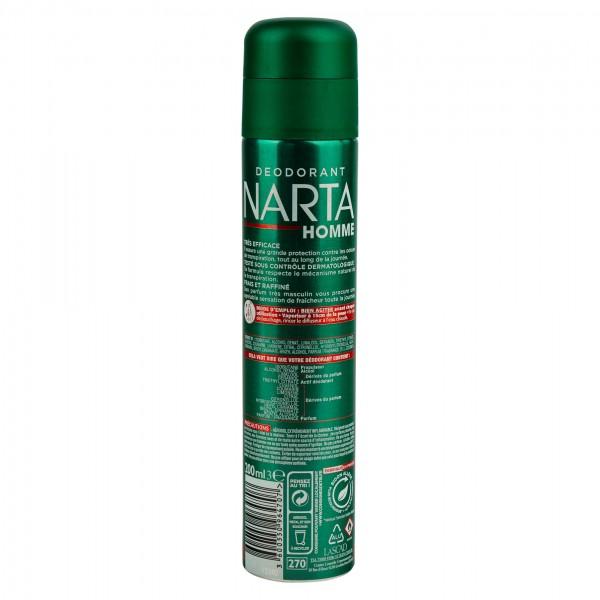 Narta Homme Fraicheur Classique Deodorant 200Ml