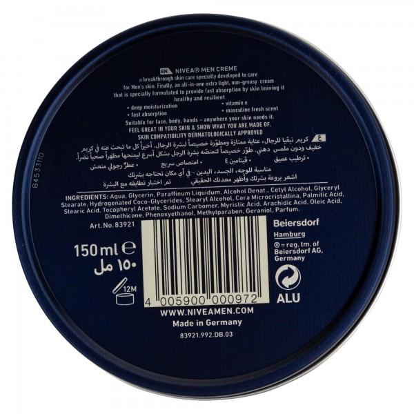 Nivea Cream Gm 150Ml