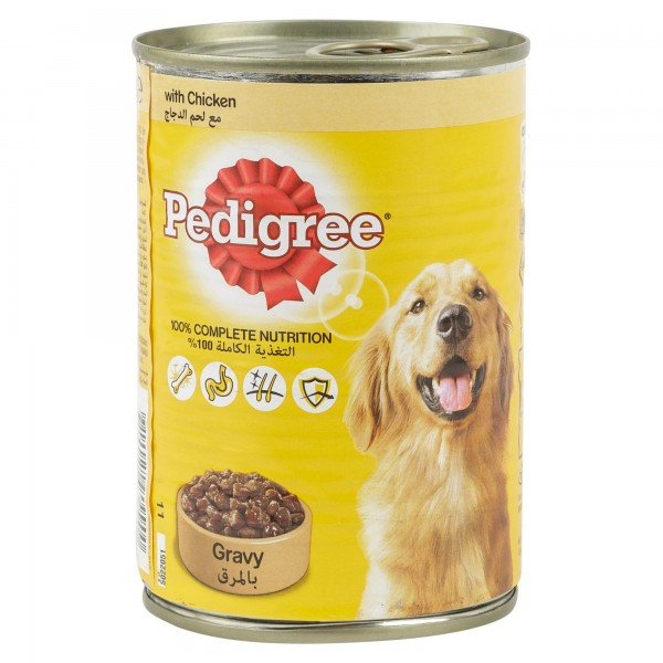 Pedigree Gravy With Chicken Can 400G
