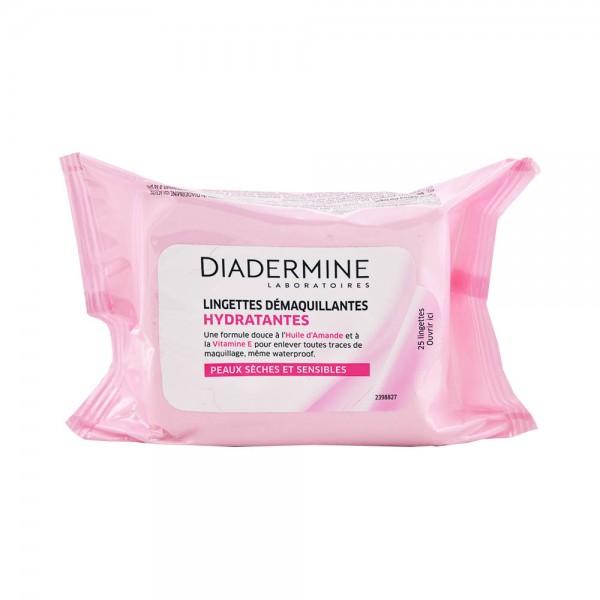 Diadermine Lingettes Demaquillantes 25 Wipes Per Pack