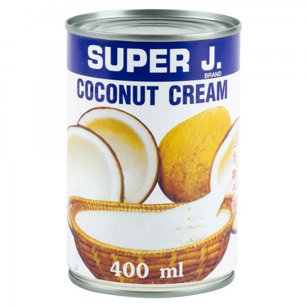 Super J. Coconut Cream 400ml