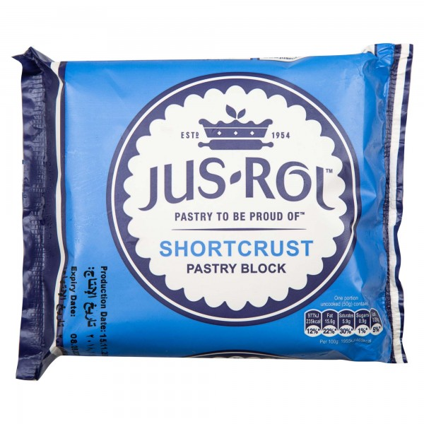 Jus-Rol Short Crust Puff Pastry Frozen 500G
