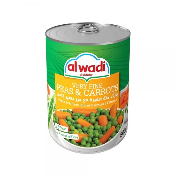 Al Wadi Al Akhdar Very Fine Peas & Carrots