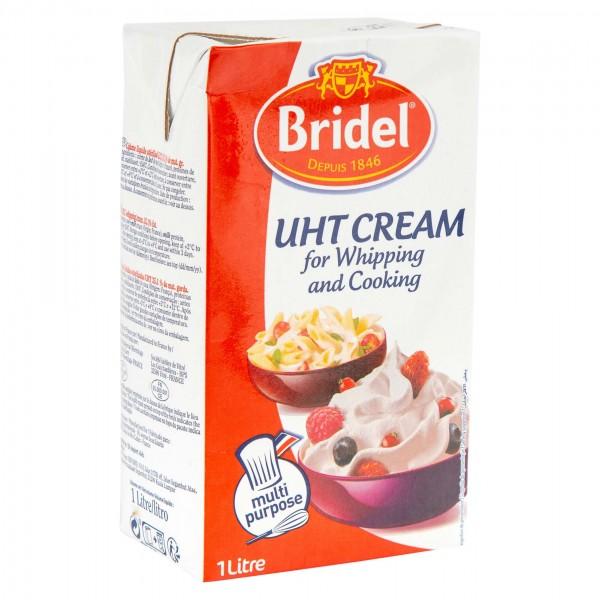 Bridel Crème Entiere UHT Dessert Et Cuisson 1 L