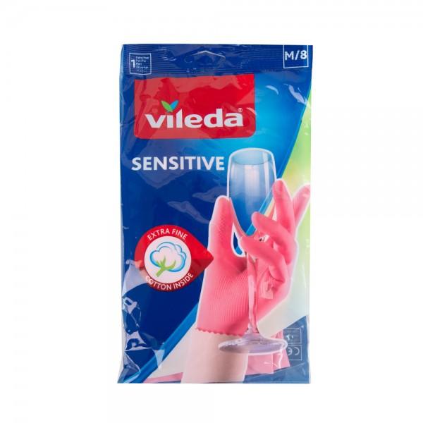 Vileda Glove Sensitive Medium @35% OFF