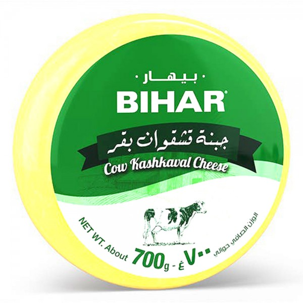 Bihar Kashkaval Cow Cheese