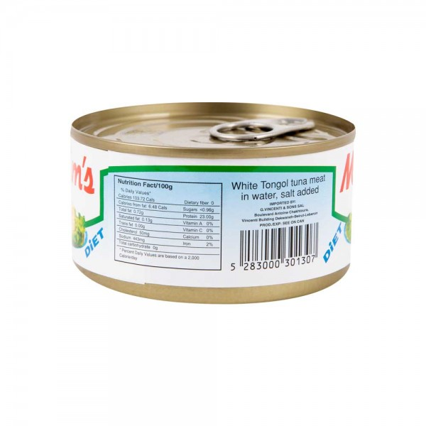 Maxim's White Tongol Tuna Meat in Water Canned 200G