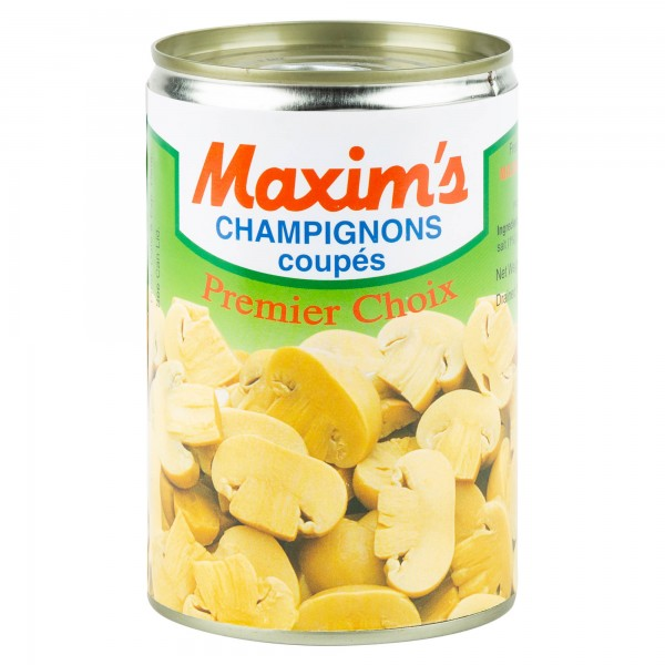 Maxim's Mushrooms Slices Tin Canned 390G