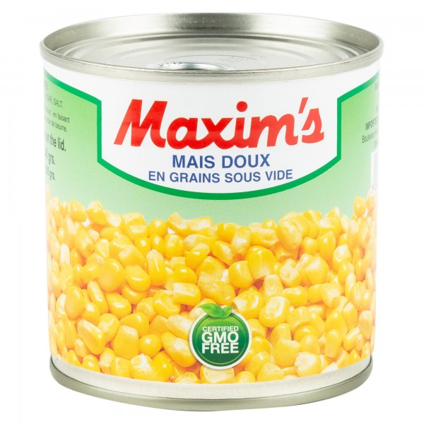 Maxim's Whole Sweet Corn Canned 350G
