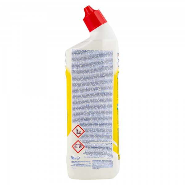 Wc Net Bleach Lemon 750ml
