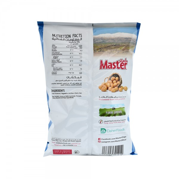 Master Chips Salted - 119G