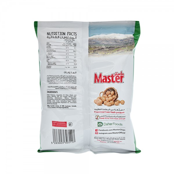 Master Chips Salt and Vinegar 34g