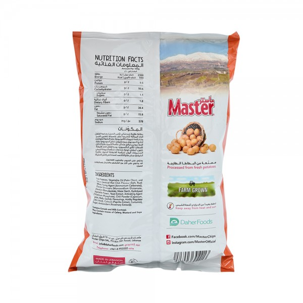 Master Chips Hot & Spicy 119g