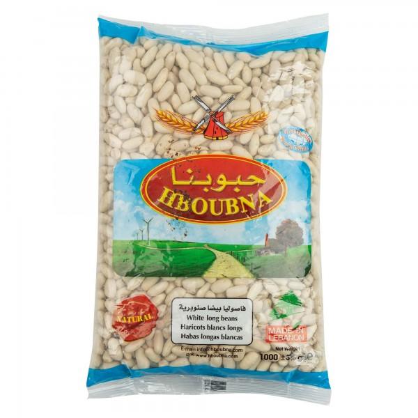 Hboubna White Long Beans 1000G