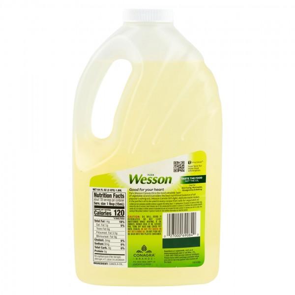 Wesson Canola Oil 1.89L