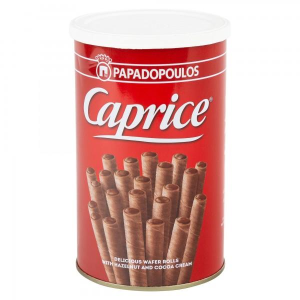 Papadopoulos Caprice Praline Cream Filled Wafers 250G