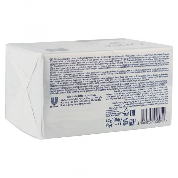 Dove Beauty Cream Bar White 400G