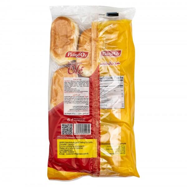 Pain D'Or Pain Au Lait Soft Bread 9 Pieces